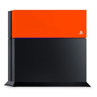 Accessoire Sony Custom Faceplate Orange Neon pour Console PS4
