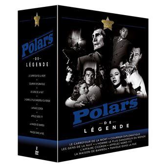 Coffret Polars de légende 8 Films DVD