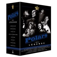 Coffret Polars de légende 8 Films DVD