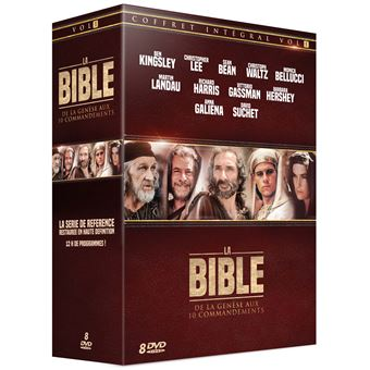 La BibleCoffret La Bible de la Genèse aux Dix Commandements DVD