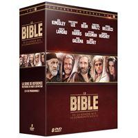 Coffret La Bible de la Genèse aux Dix Commandements DVD