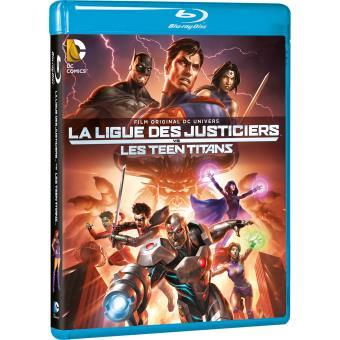 Justice leagueJustice League vs Teen titans Blu-ray