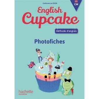 English Cupcake Anglais CM Cycle 3