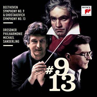 Symphony number 9 Symphony number 13 Inclus un livret de 32 pages