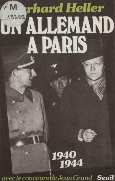 Un Allemand à Paris - 9782021257458 - 6,99 €