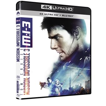 Mission : Impossible  Les FilmsMISSION IMPOSSIBLE 3-FR-BLURAY 4K