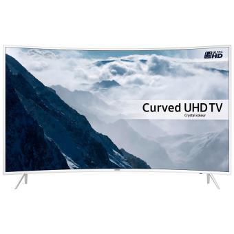 """e26f38db030 TV Samsung UE55KU6510 UHD 4K Incurvée Blanche - Téléviseur LCD 44"""" à ..."""