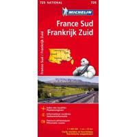 FRANCE SUD / ZUID - FRANKRIJK 11725 CARTE ' NATIONAL ' 2015 MICHELIN KAART