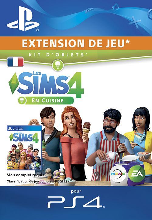 Les Sims 4 Kit Dobjets En Cuisine PS4 code de téléchargement