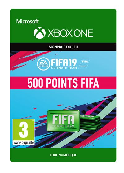 Code de téléchargement FIFA 19 Ultimate Team 500 Points Xbox One