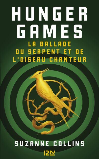 Hunger Games - La ballade du serpent et de l'oiseau chanteur - 9782823875898 - 13,99 €