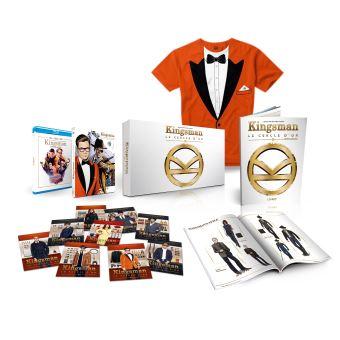 Kingsman : Le Cercle d'or Coffret Steelbook Blu-ray