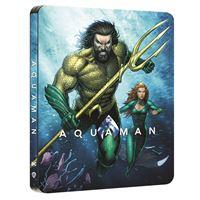 Aquaman Edition Comic Steelbook Blu-ray 4K Ultra HD