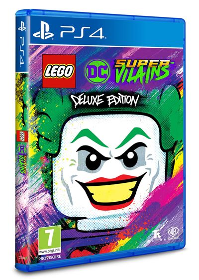 LEGO DC Super-Vilains Edition Deluxe PS4
