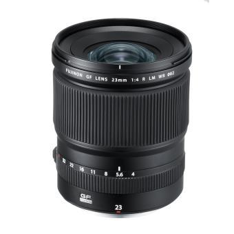 Objectif Fujifillm Fujinon GF 23 mm F4 R LM WR Noir