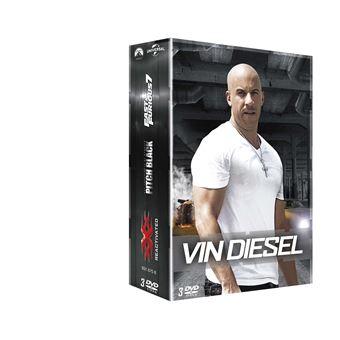 Coffret Vin Diesel 3 films DVD