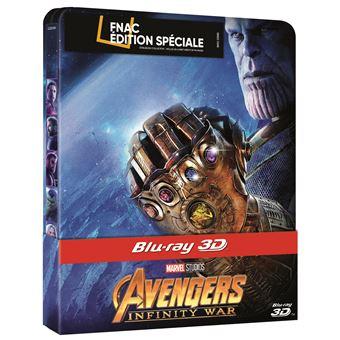 AvengersAvengers : Infinity War Edition Fnac Steelbook Blu-ray 3D