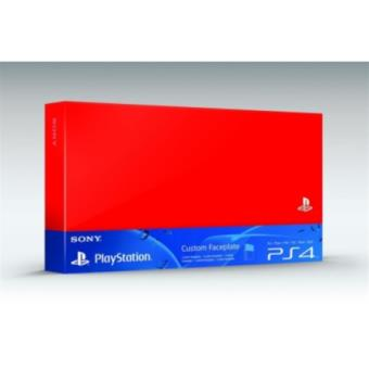 Accessoire Sony Custom Faceplate Rouge pour Console PS4