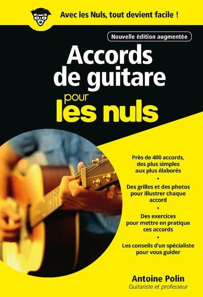 Pour les Nuls -  : Accords de guitare Poche Pour les nuls