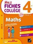 Mes fiches collège Maths 4e