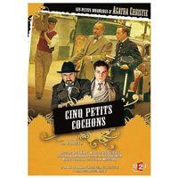 Les Petits meurtres d'Agatha Christie  Saison 1 Episode 07 : Cinq petits cochons DVD