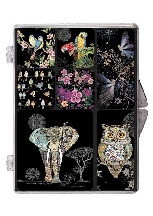 Set de 7 magnets Kiub Bug Art Jewels Modèle aléatoire