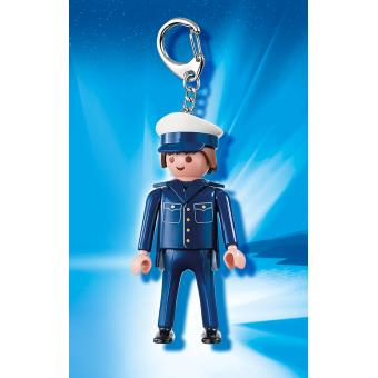 porte cls policier playmobil porte clef achat prix fnac - Policier Playmobil