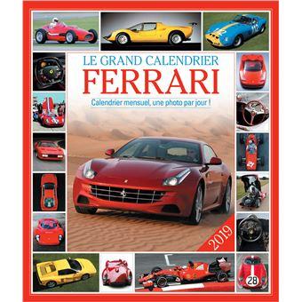 Le grand Calendrier Ferrari 2019