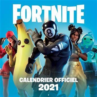 Fortnite   Fortnite Calendrier 2021   Collectif   broché   Achat