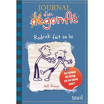 Journal d'un dégonfléJournal d'un dégonflé - tome 2 Rodrick fait sa loi