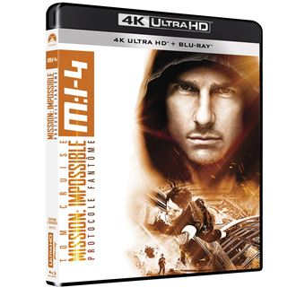Mission : Impossible  Les FilmsMission : Impossible Protocole fantôme Blu-ray 4K Ultra HD