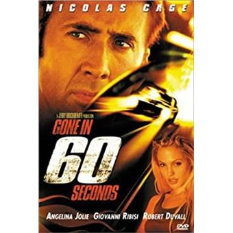 60 secondes chrono - DVD Zone 1