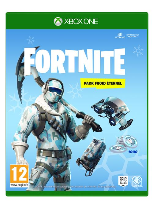 Fortnite Pack Froid Eternel Xbox One
