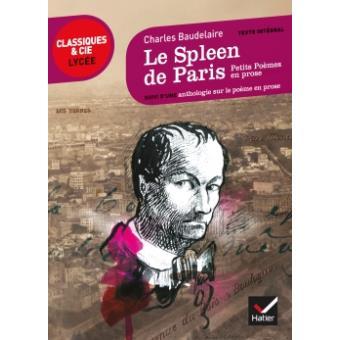 Le Spleen De Paris Petits Poèmes En Prose