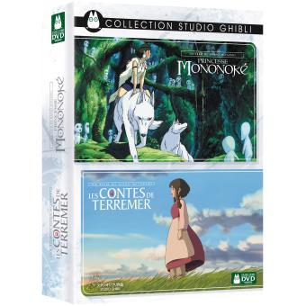35 Sur Coffret Princesse Mononoke Les Contes De Terremer Dvd