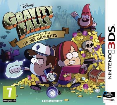 Gravity Falls La légende des Gemulettes Nintendo 3DS