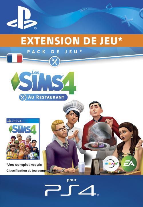 Code de téléchargement Les Sims 4 Au restaurant PS4
