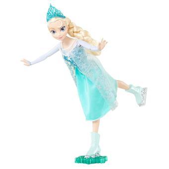 poupe elsa reine du patinage frozen la reine des neiges princesses disney - Barbie Reine Des Neiges