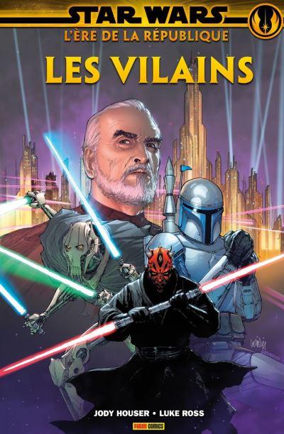 Star Wars : L' ère de la République - Les vilains - 9782809488340 - 10,99 €