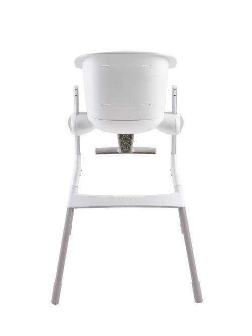 coupon code official wide range Béaba Upamp; Chaise Grise Et Blanche Haute Down rCxeBod