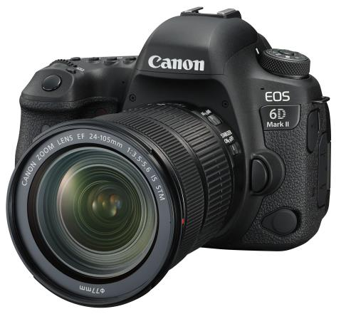 Canon EOS 6D Mark II DSLR + 24-105mm IS STM