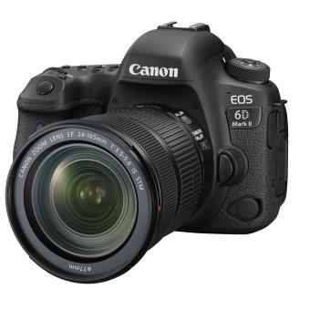 Canon EOS 6D Mark II Reflex Zwart + EF 24-105mm f / 3.5-5.6 IS STM