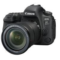 Reflex Canon EOS 6D Mark II Noir + Objectif EF 24-105 mm f/3.5-5.6 IS STM
