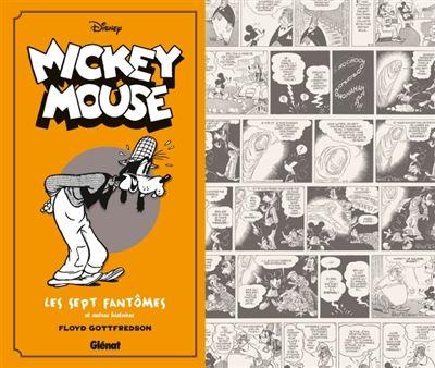Mickey Mouse par Floyd Gottfredson N&B