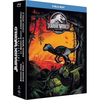 Jurassic ParkCoffret Jurassic Park 1 à 5 Blu-ray