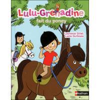 Lulu Grenadine fait du poney