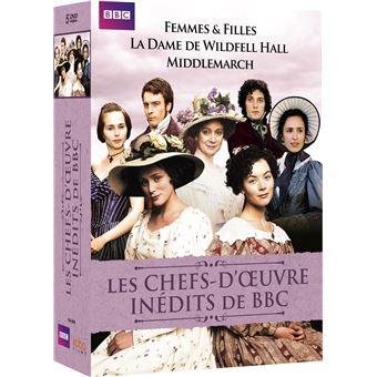 Coffret Les chefs-d'œuvre inédits de BBC DVD