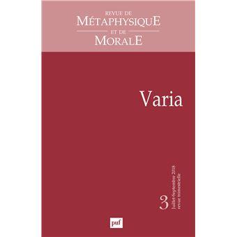 De metaphysique et morale,2018-03