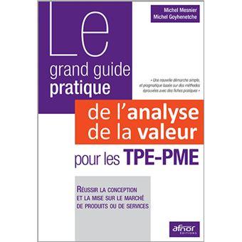 Le grand guide pratique de l 39 analyse de la valeur pour les for Le guide des prix