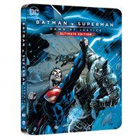 Batman v Superman L'Aube de la Justice Edition Comic Steelbook Blu-ray 4K Ultra HD